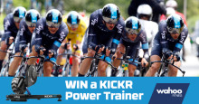 Win a Wahoo Fitness KICKR Power Trainer!