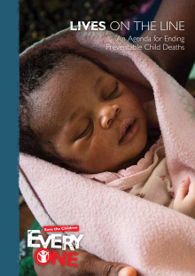 Lives on the Line- An Agenda for Ending Preventable Child Deaths