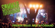 Sju heta förband värmer publiken på Sommartorsdagarna® 2018