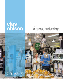 Clas Ohlson Årsredovisning 2016/17