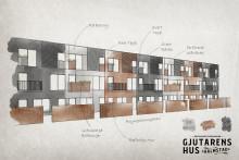 Gjutarens Hus - nya hus men återvunnet vinnande koncept!