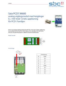 SAIA PCD7.W600