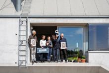 Ateljébostad med unika glaslösningar fick Svenska Fönster-priset