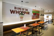 BURGER KING® åpner ny restaurant på E18 Grelland i Holmestrand.