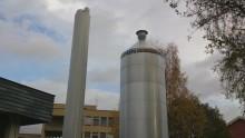 Konverteringen klar - Kongsberg Sjukhus nya energicentral i drift