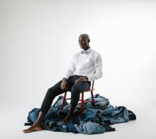 Olabukseslips og olabuksetversover av gamle jeans