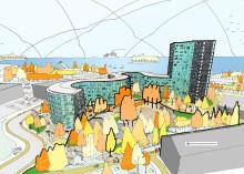 Scheiwiller Svensson skapar nytt landmärke i Nynäshamn