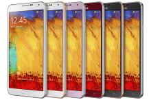 Samsung utvider Galaxy Note 3-serien med nye farger