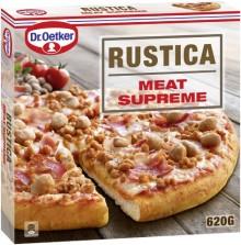 Familieforøkelse i Rustica-familien. Norges mest kjøttfulle pizza?