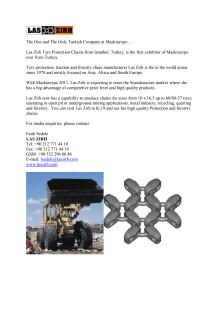 Las Zirh tyre protection news release