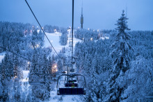 Hvorfor dra over fjellet etter snø?