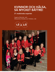 NY KOMMANDE BOK:  KVINNOR OCH HÄLSA – SÅ MYCKET BÄTTRE!