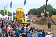 Swecon Baumaschinen auf der Nordbau 2017