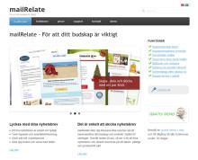 Nyhetsbrevstjänsten mailRelate lanserar ny hemsida