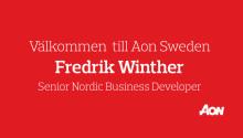 Aon Sweden har rekryterat Fredrik Winther