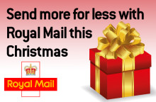 Send more for less with Royal Mail this Christmas