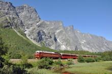 Vackraste tågresorna i Norge