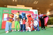 Sesame Street returns to Changi Airport to take you on a  European adventure this June school holidays!