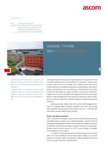 Case study - Centralsjukhuset i Karlstad