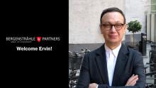 Ervin Dubarić ansluter till Bergenstråhle & Partners med erfarenhet och nya synsätt!