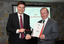 50 years of service for Go North East's Ian