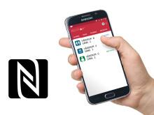 NFC-stöd i BESTsenior® larmsystem