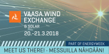 Empower at Vaasa Wind Exchange & Solar on 20–21 March