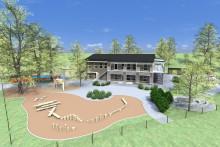 NCC inleder ovanligt förskolebygge i Huddinge