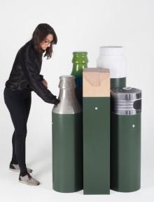 Examensarbete vill underlätta källsortering och återvinning i offentliga miljöer