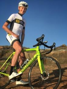 OS-medaljör cyklar med Märsta Förenade