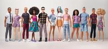 Barbie® erweitert das Fashionistas Sortiment und stellt Kens in zwei neuen Körperformen vor
