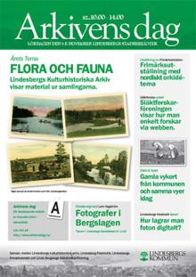 Arkivens dag på Lindesbergs kulturhistoriska arkiv