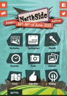 NorthSide lancerer den officielle app for 2013