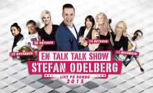 """Sveriges stora superlive show på Rondo i höst! Stefan Odelbergs """"En Talk Talk Show"""" med premiärgästerna Robert & Maria Wells den 14 oktober!"""