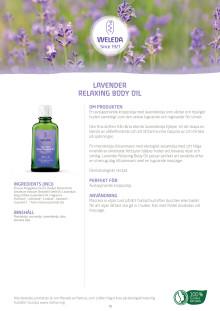 Lavender Relaxing Body Oil