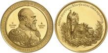 Rysk guldmedalj från tsartiden klubbades för 1,5 miljoner på auktion i Tyskland