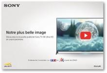 Sony capte un phénomène naturel unique : des bulles se gèlent au service de la 4K