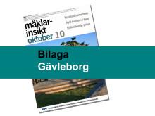 Mäklarsamfundet oktober 2010: Gävleborg