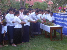 SOS-barneby i Kambodsja minnes norske terrorofre