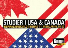 Inspirasjonskveld 11. februar: Studier i USA og Canada