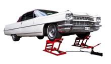 Nytt sätt att lyfta bilen – Hydrauliska hjulramper. Bara hos Verktygsboden.