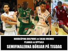 Svenska Basketligans semifinaler