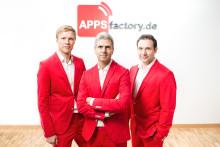 Innovative Technologien, namhafte Kunden, vielseitige Erfahrung: APPSfactory seit 7 Jahren erfolgreich im App-Geschäft