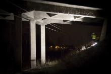 VIDEOARTIKKELI: Työtä keskellä yötä - sillan koekuormitus Kirstulassa