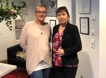 Vi välkomnar nya medarbetare, Lotta och Birgitta till Arom-dekor Kemi!