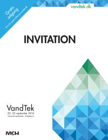 INVITATION TIL VANDTEK