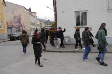 """Kulturellt EU-utbyte i Borås – """"Konst förändrar det offentliga rummet"""""""