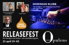 Nystartade magasinet Opulens firas med fullspäckad kulturkväll