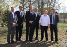 Ambassadör besöker Uponor i Västerås och Virsbo