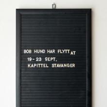 Bob Hund intar Kapittel – Stavangers internationella festival för litteratur och yttrandefrihet